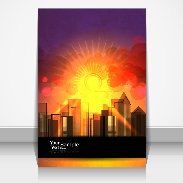 Brochure Cover Sunrise