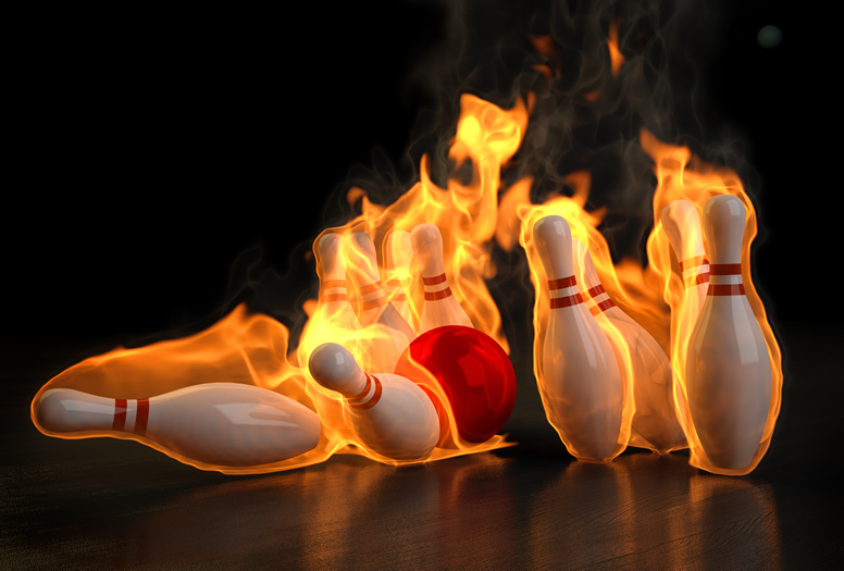 Burning Bowling