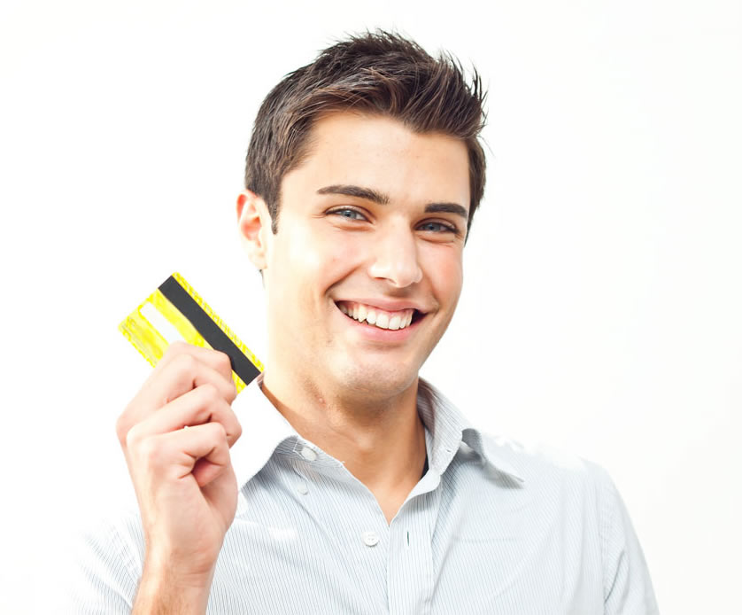 Business People Credit Cards