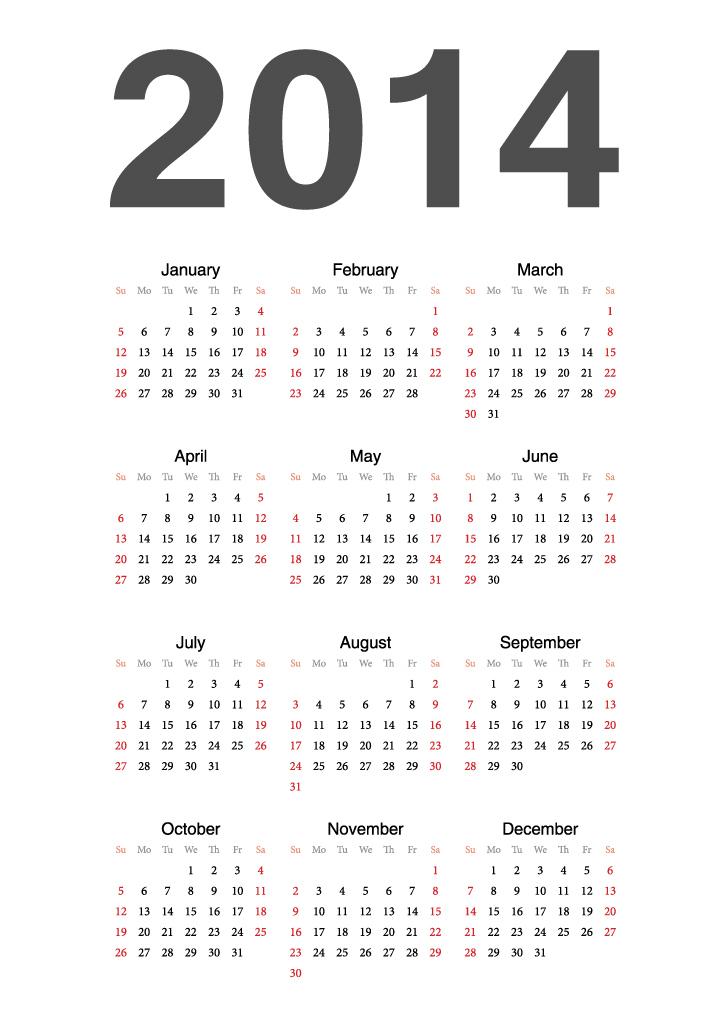 Calendar 2014 15
