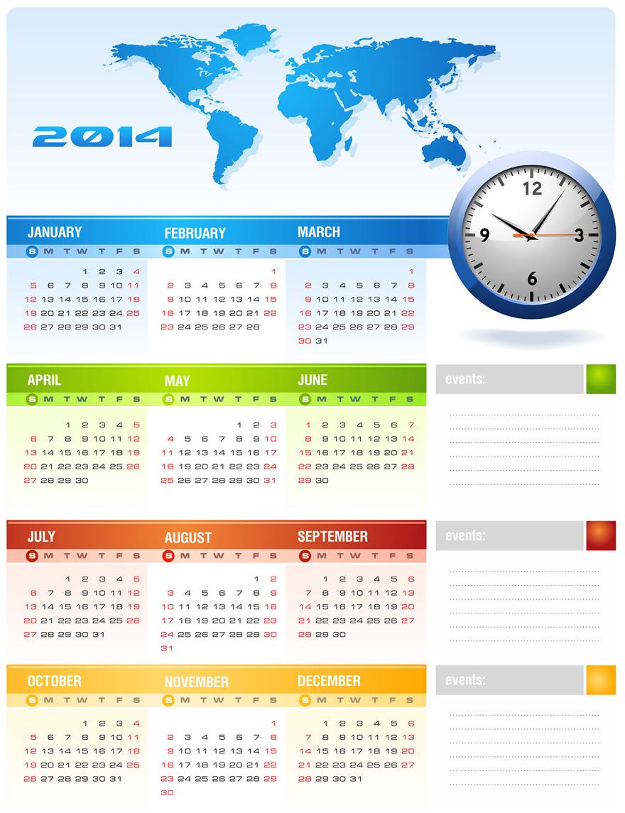 Calendar 2014 7