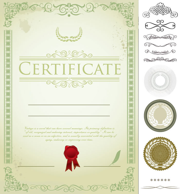 Word Certificate Templates Free Download
