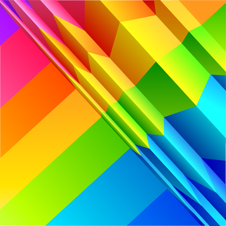 Colorful Origami Background