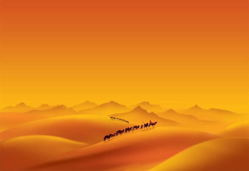 Desert psd