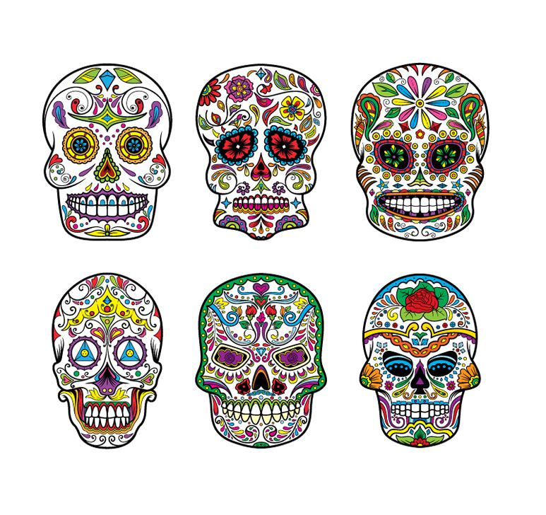 Designious Sugar Skulls