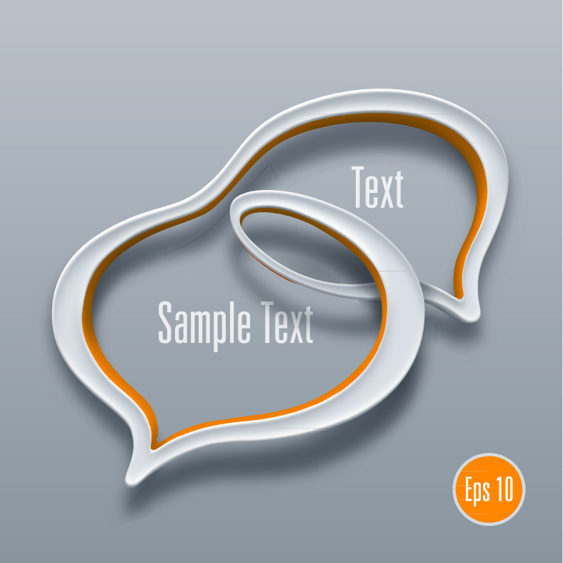 Detailed Talk Bubble Template