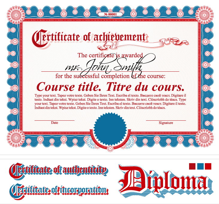 Diploma Certificate 2