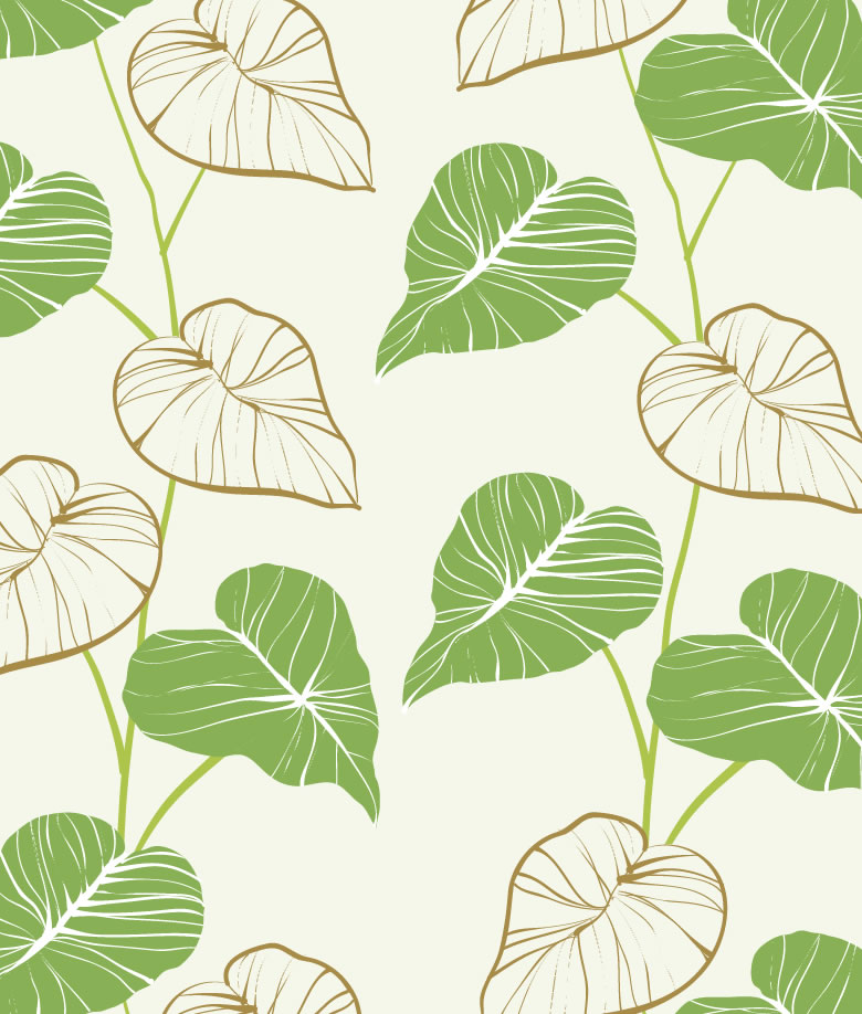 Hand Drawn Leaves Background | Free Vector Graphic Download