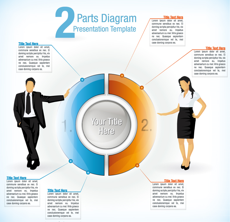 Infographic Parts Diagram