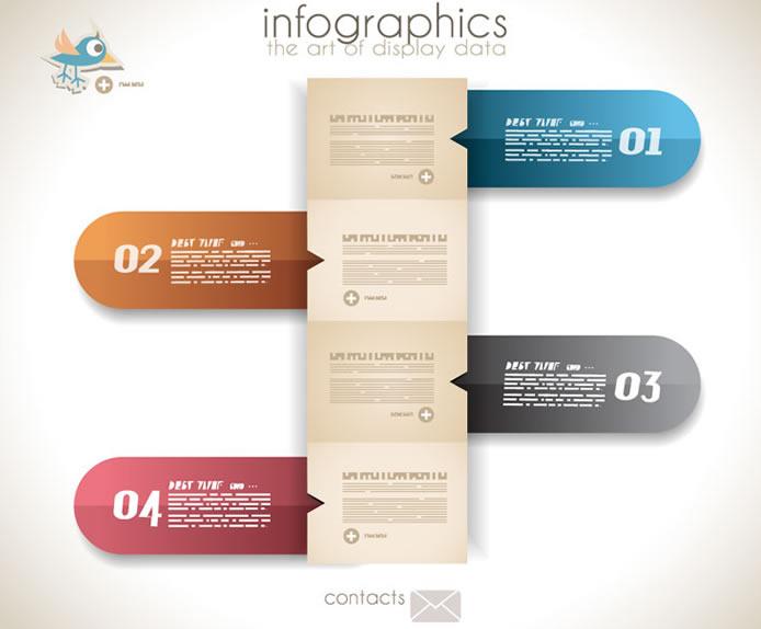 Infographics Display Data 2
