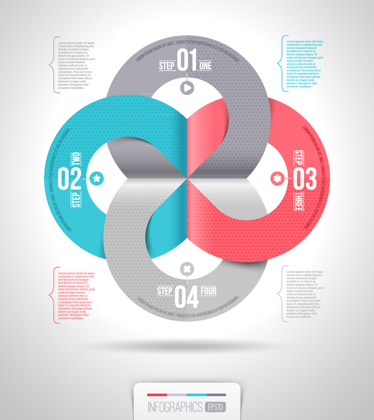 Infographics Ring Step