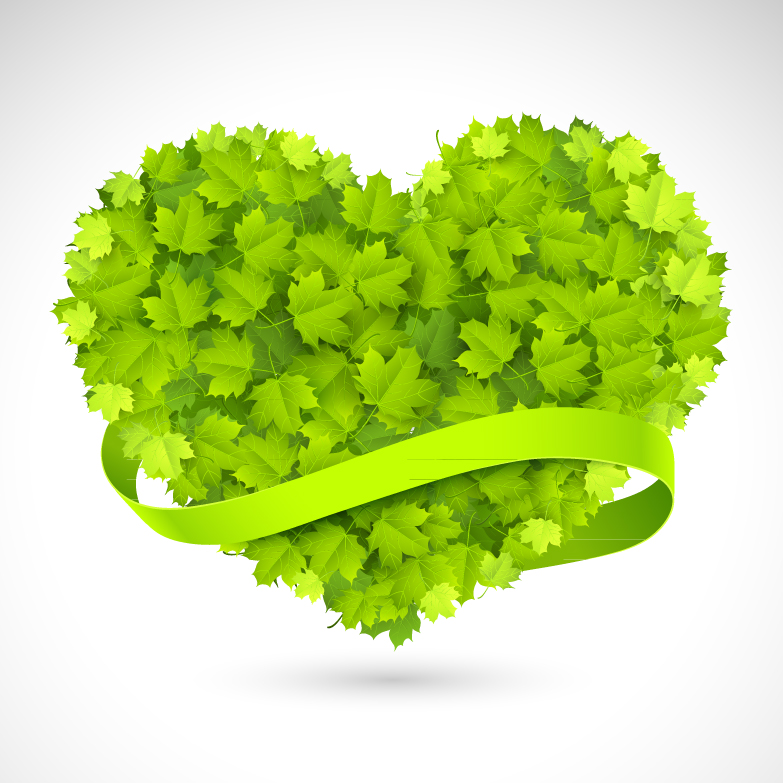 Love Leaves Background