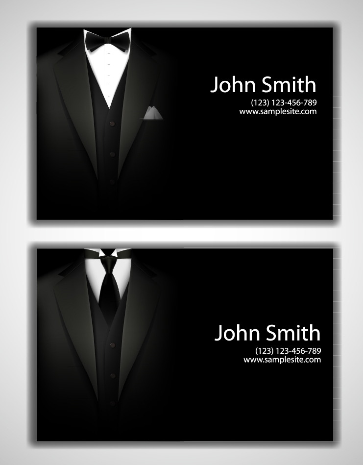 Man Business Card