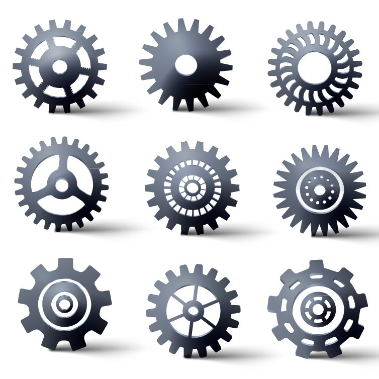 Mechanical Gear | Free Vector Graphic Download