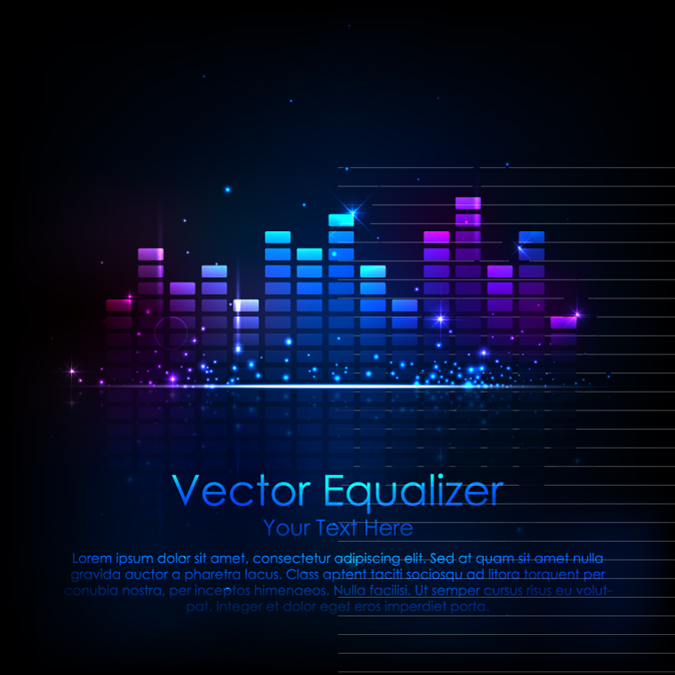 Music Equalizer Graphics