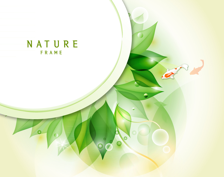 Nature Frame Free Vector Graphic Download