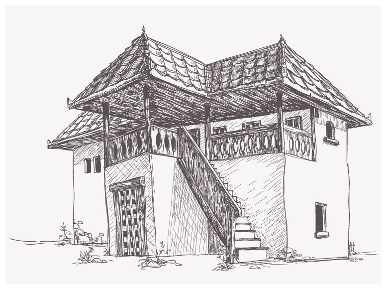 Old-House-Sketch-4