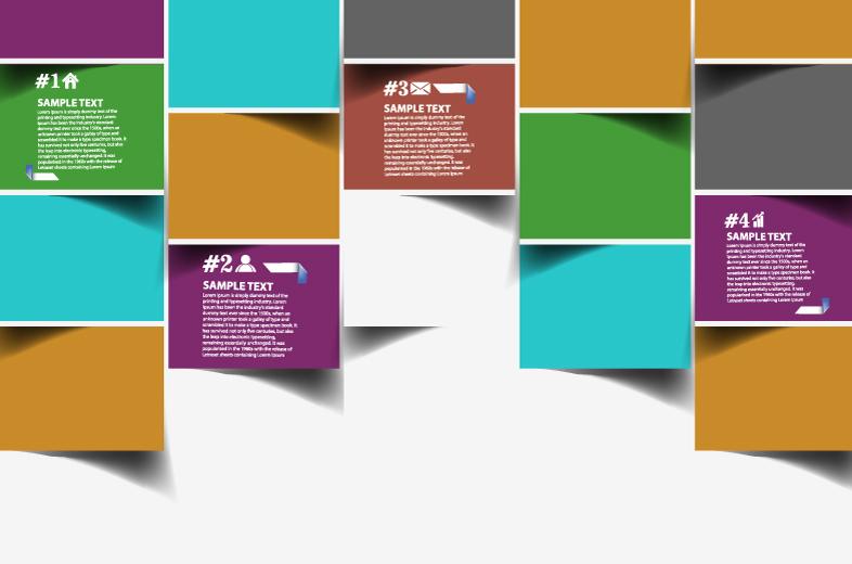 Paper box Background