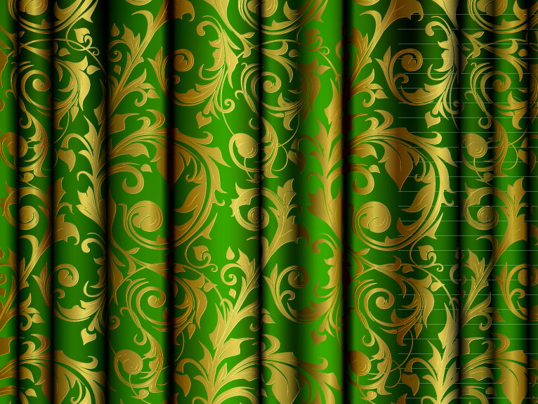 Pattern Curtain 4