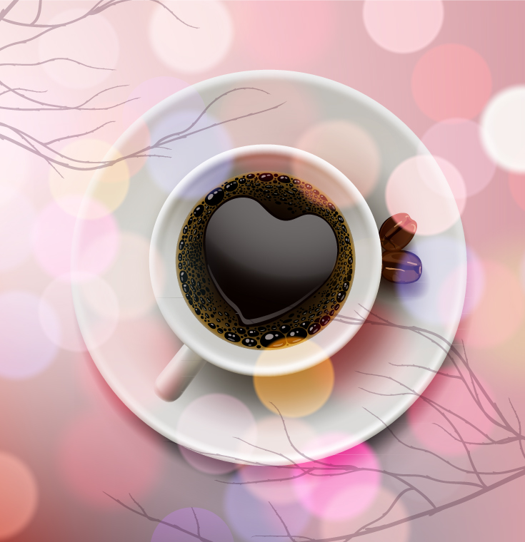 Romantic Heart Coffee