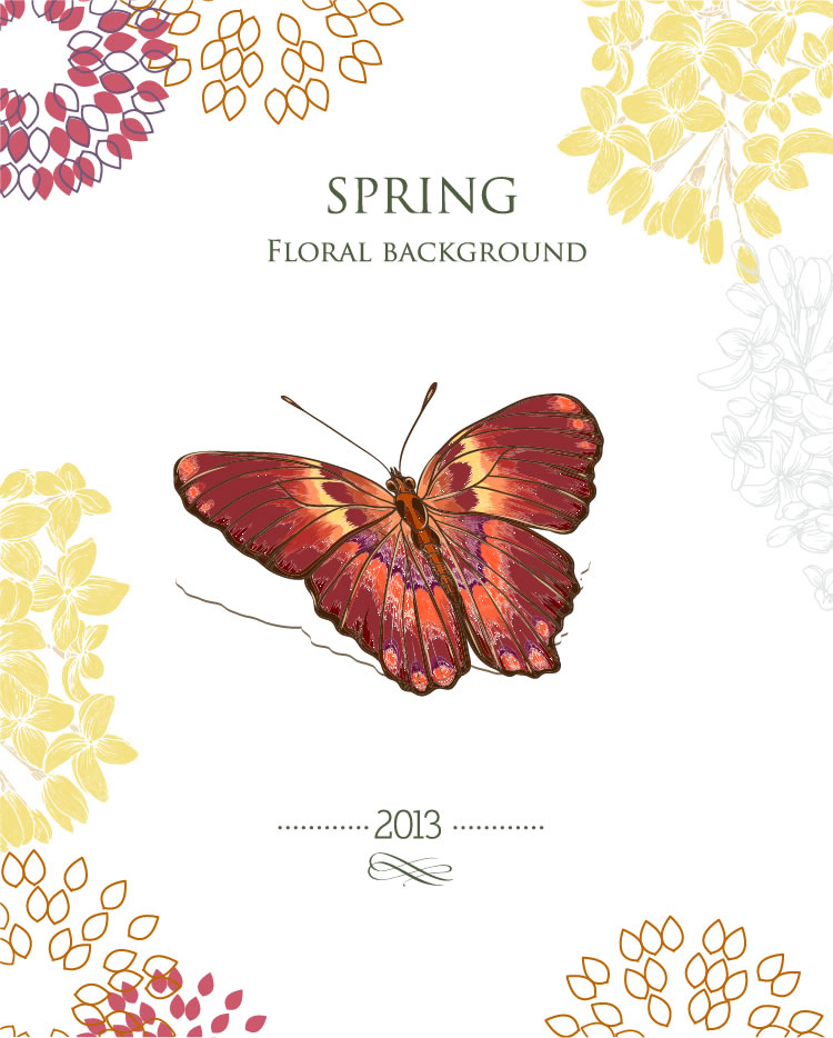 Spring Floral Background 3