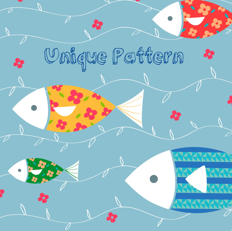 Unique Pattern Fish