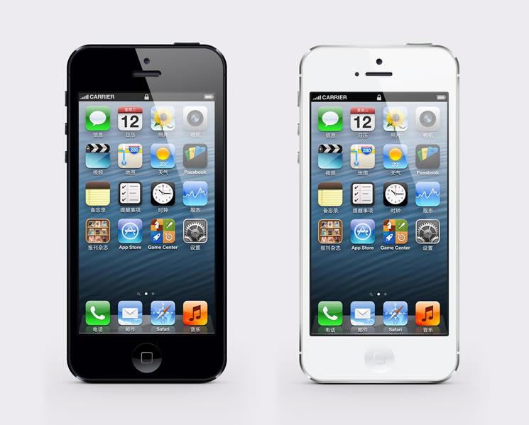 iPhone 5 PSD