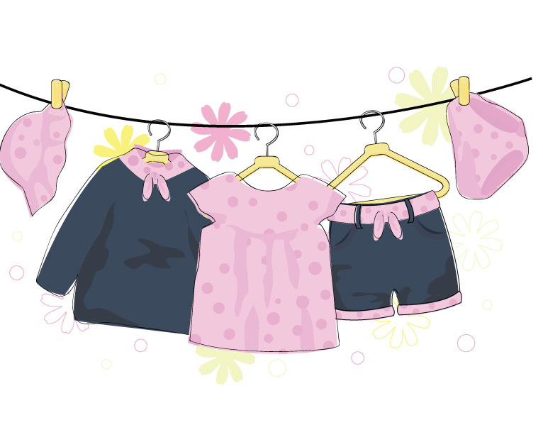 Baby Clothes funny cartoons from CartoonStock directory - the world's largest on-line collection of cartoons and comics.
