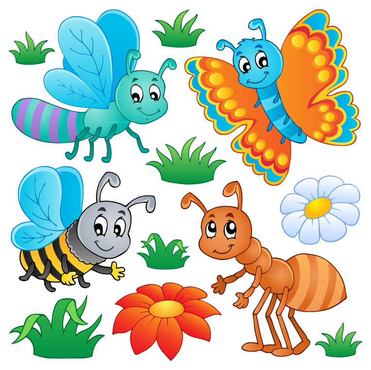 Cartoon Insects 3