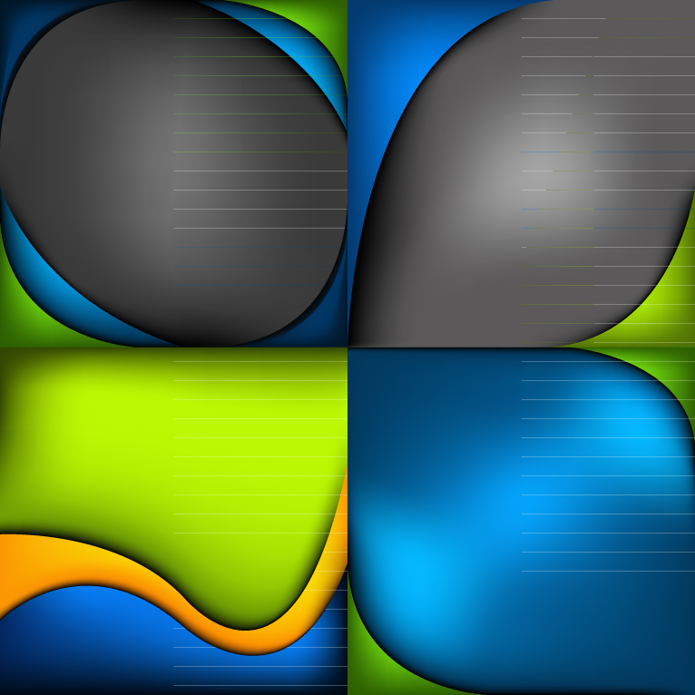 Curves Vector Backgrounds