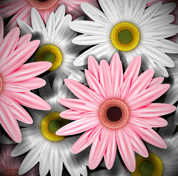 Flowers Realistic Illustration 5