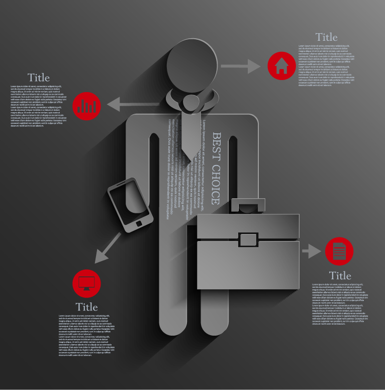 Infographic Business People 2
