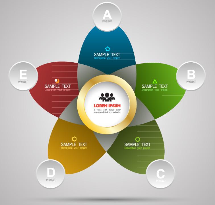 Infographic Creative Alphabet