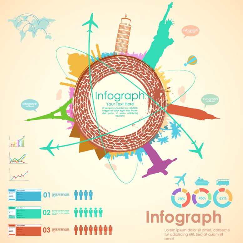 Infographic Tour Line