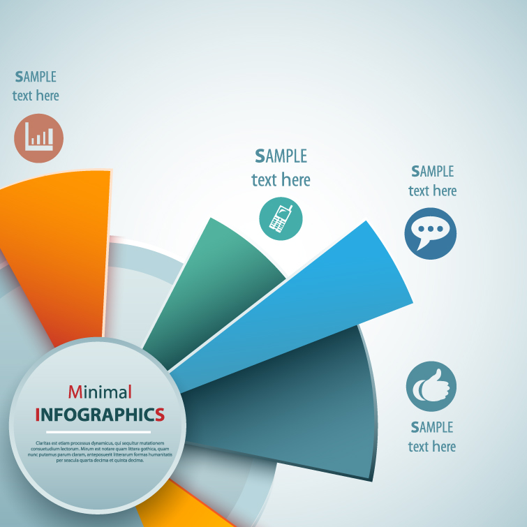 Infographics Turntable Vector free download