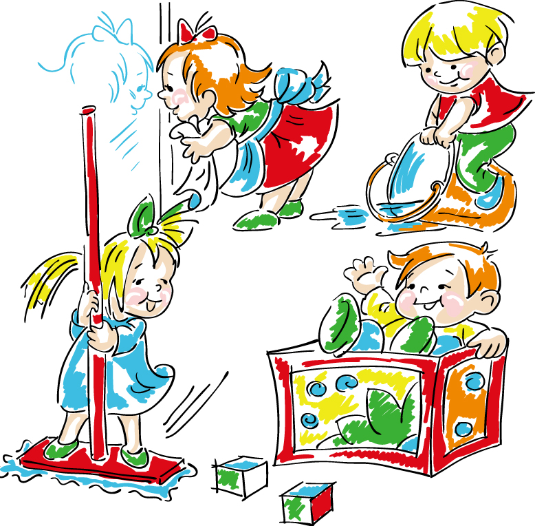Kids Housework 3