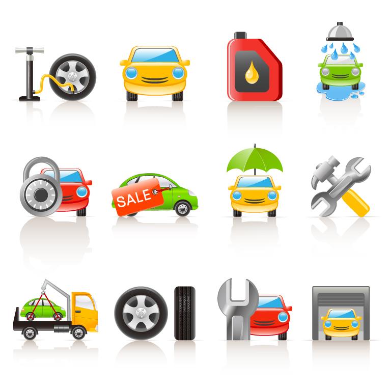 Motor-Icon-Set