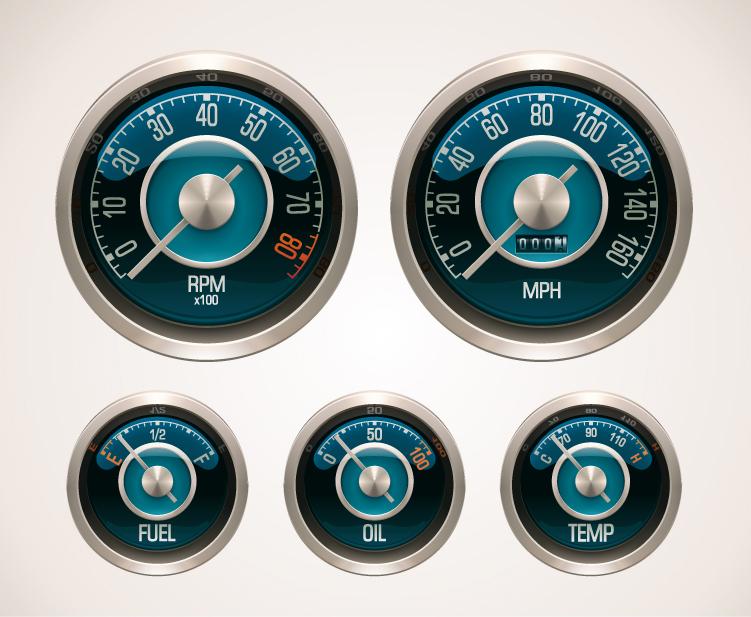 Motor Vehicles Speedometer and Odometer 3