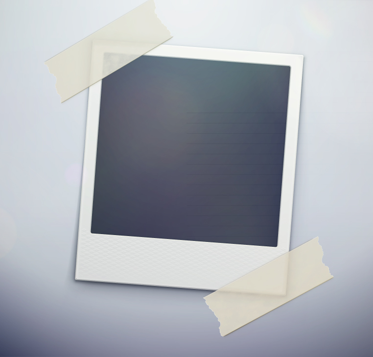 Polaroid Photo Template | Free Vector Graphic Download