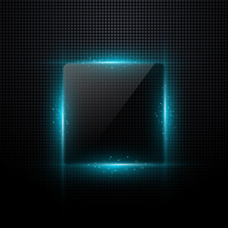 Square Light Effect Background