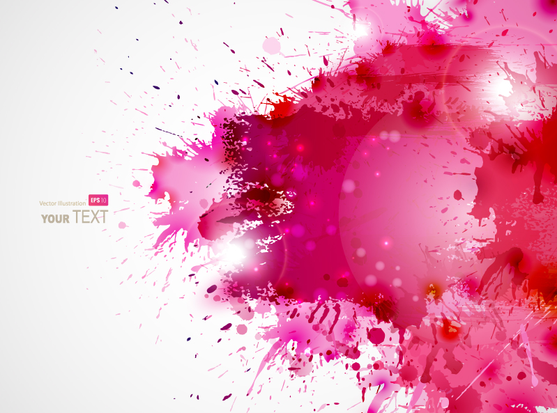Abstract Blots Background