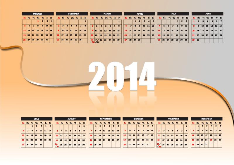 Calendar 2014 24