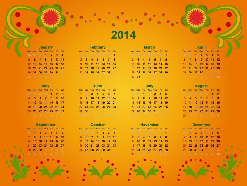 Calendar 2014 26