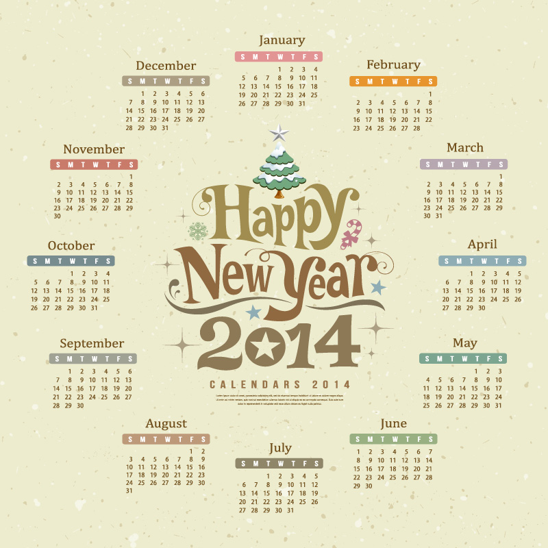 Free Printable Calendars 2014