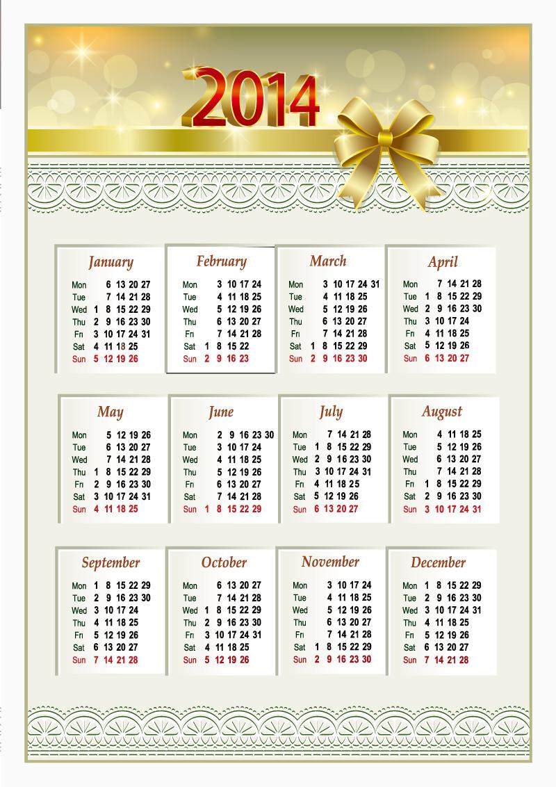 Calendar 2014 38