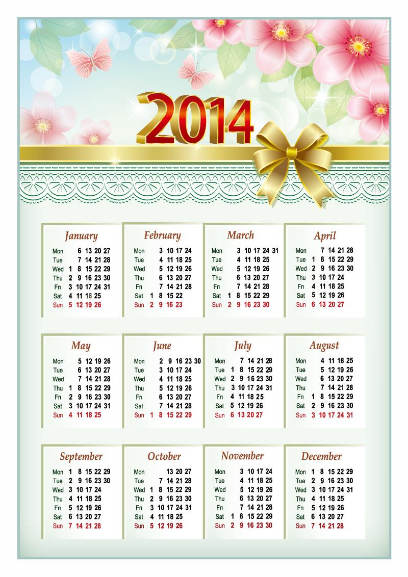 Calendar 2014 40