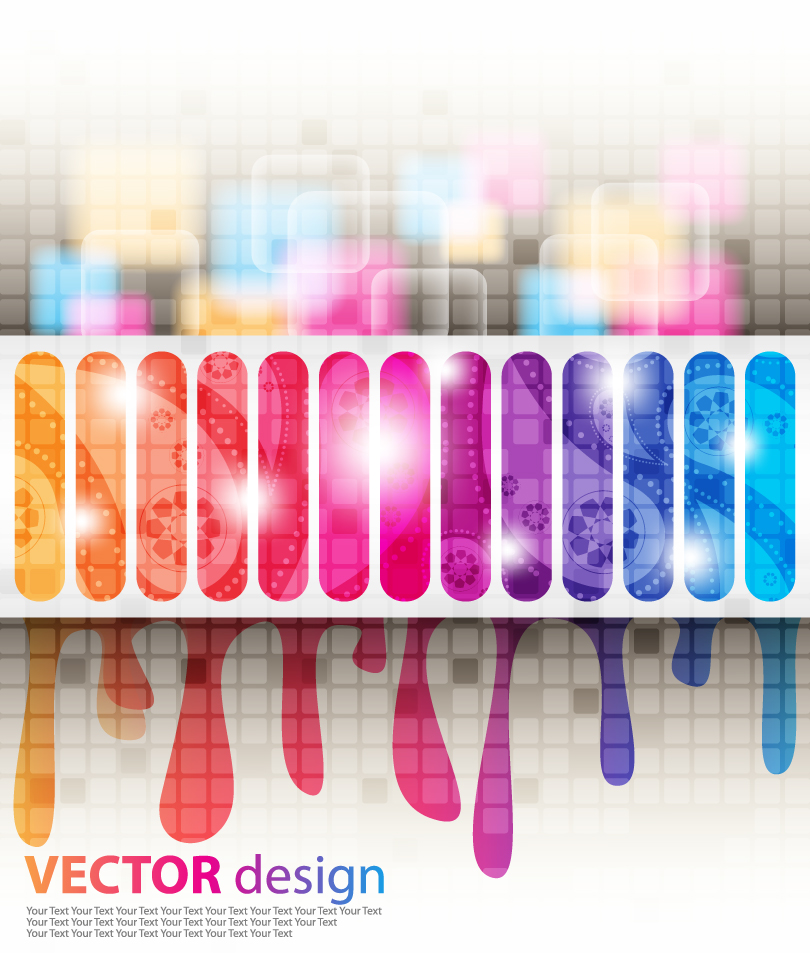 Colorful Film Abstract Background