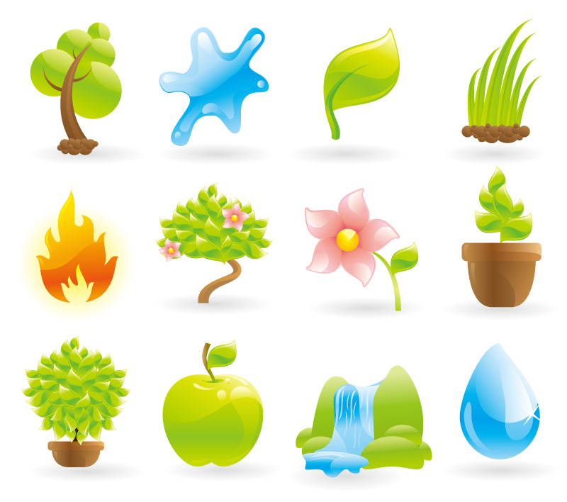 Fresh and Natural Icons