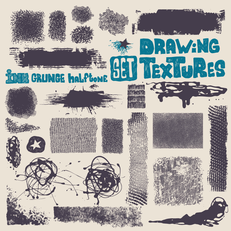 Hand Drawn Textures 3