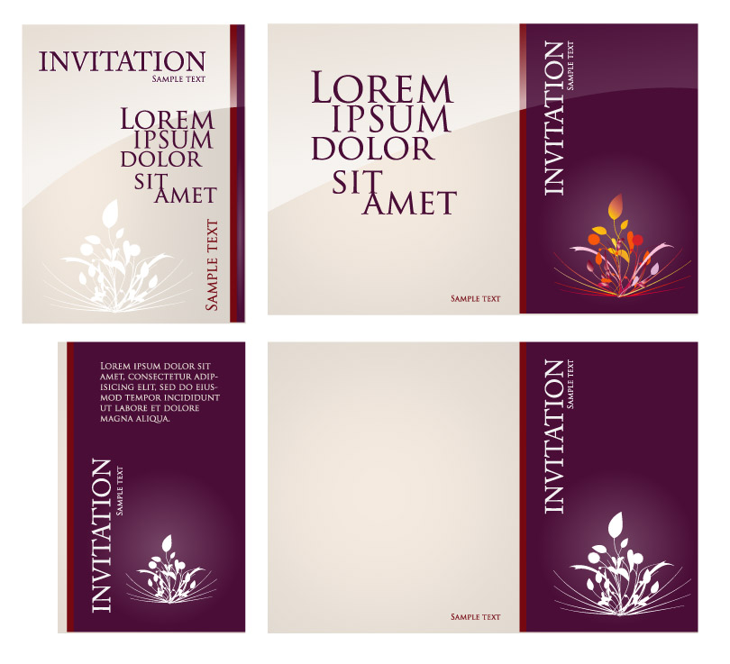 Invitation card background free vector graphic download invitation card background stopboris Choice Image